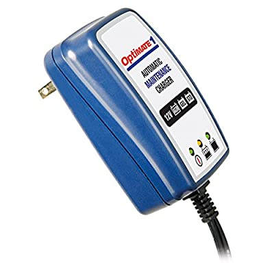 OptiMATE 1 Global, TM-401, 4-step 12V 0.6A Battery charger-maintainer