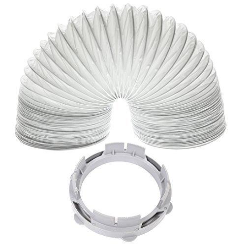 White Knight / Crosslee Tumble Dryer Vent Hose Condenser Adaptor Kit (2m / 4