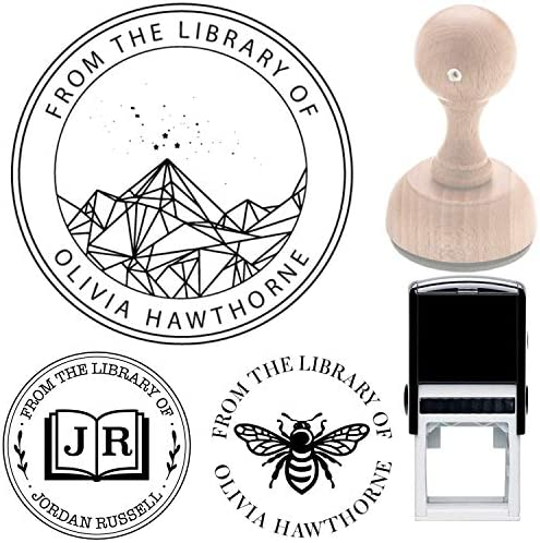 Acotar Velaris Library Book Name Stamp Book from The Library of This Belongs to Personalized product image