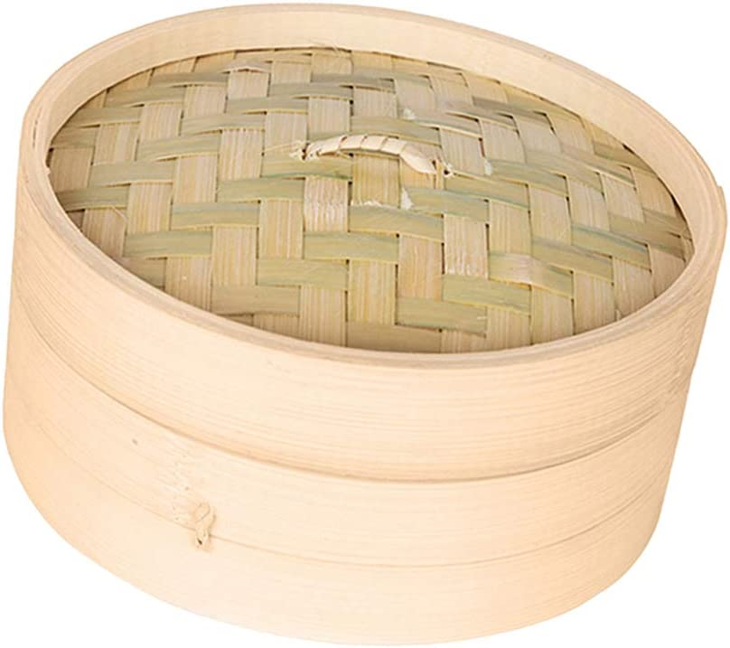 Philadelphia Mall Newmind Ranking TOP17 Bamboo Steamer Healthy Cooking ve for Perfect Dumplings