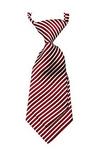 Unique bébé cravate réglable cravate Parti Wedding Show cravate Garçon [Rouge]