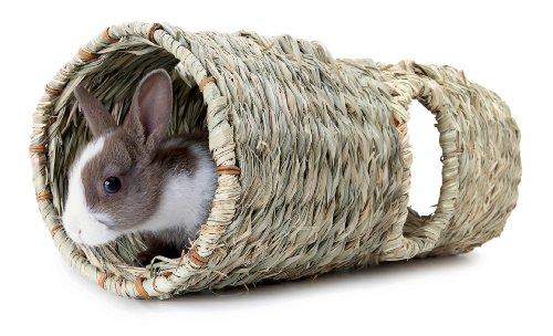 Living World Green Schilfgrastunnel für Meerschweinchen und Kaninchen - 4