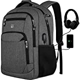 Laptop Backpack,College Backpack School Backpack with USB Charging Port fits 15.6 inch Computer