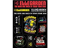 ELLEGARDEN THE BOYS ARE BACK IN TOWN TOUR 2018/ステッカーシート 西日本豪雨災害チャリティ (FREE)