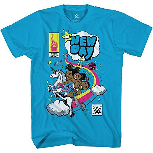 WWE Camiseta The New Day - Kofi Kingston, Big E y Xavier Woods - World Wrestling...