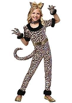 Leopard Jumpsuit Costume for Girls - XL