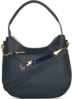 Baggit Women's Hobo Handbag (Blue)