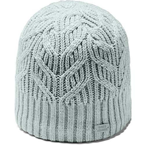 Under Armour Women's Around Town Beanie, Atlas Green (189)/Atlas Green, One Size Fits All