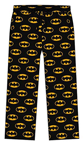 DC Batman Classic Logo Black Lounge Pants für Herren: Large