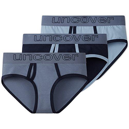 Schiesser Mädchen Unterhose 3Pack Panties, 3er Pack, Mehrfarbig (Sortiert 1 901), 140 (Herstellergröße XS)