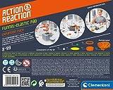 Clementoni 19116 Galileo Science – Action & Reaction Trampolin, spektakuläres Zubehör für die Kugelbahn, erweiterbarer Baukasten, Spielzeug für Kinder ab 8 Jahren