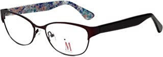 Isaac Mizrahi Designer Eyeglass Framess M109-02 in Brown 52mm