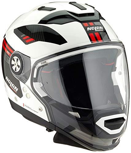 Preisvergleich Produktbild Nolan Herren N70-2 Gt Bellavista N-com Metal White M Helmet,  weiß,  M