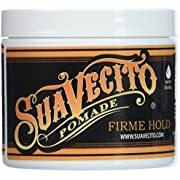 Suavecito Pomade Firme (Strong) Hold 4 oz (Pack of 3)