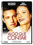 Algo Que Contar (Import Dvd) (2011) Ben Affleck; Gwyneth Paltrow; Joe Morton;
