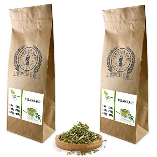 VITAIDEAL VEGAN® Helmkraut geschnitten (Scutellaria) 2x300g., rein natürlich ohne Zusatzstoffe.