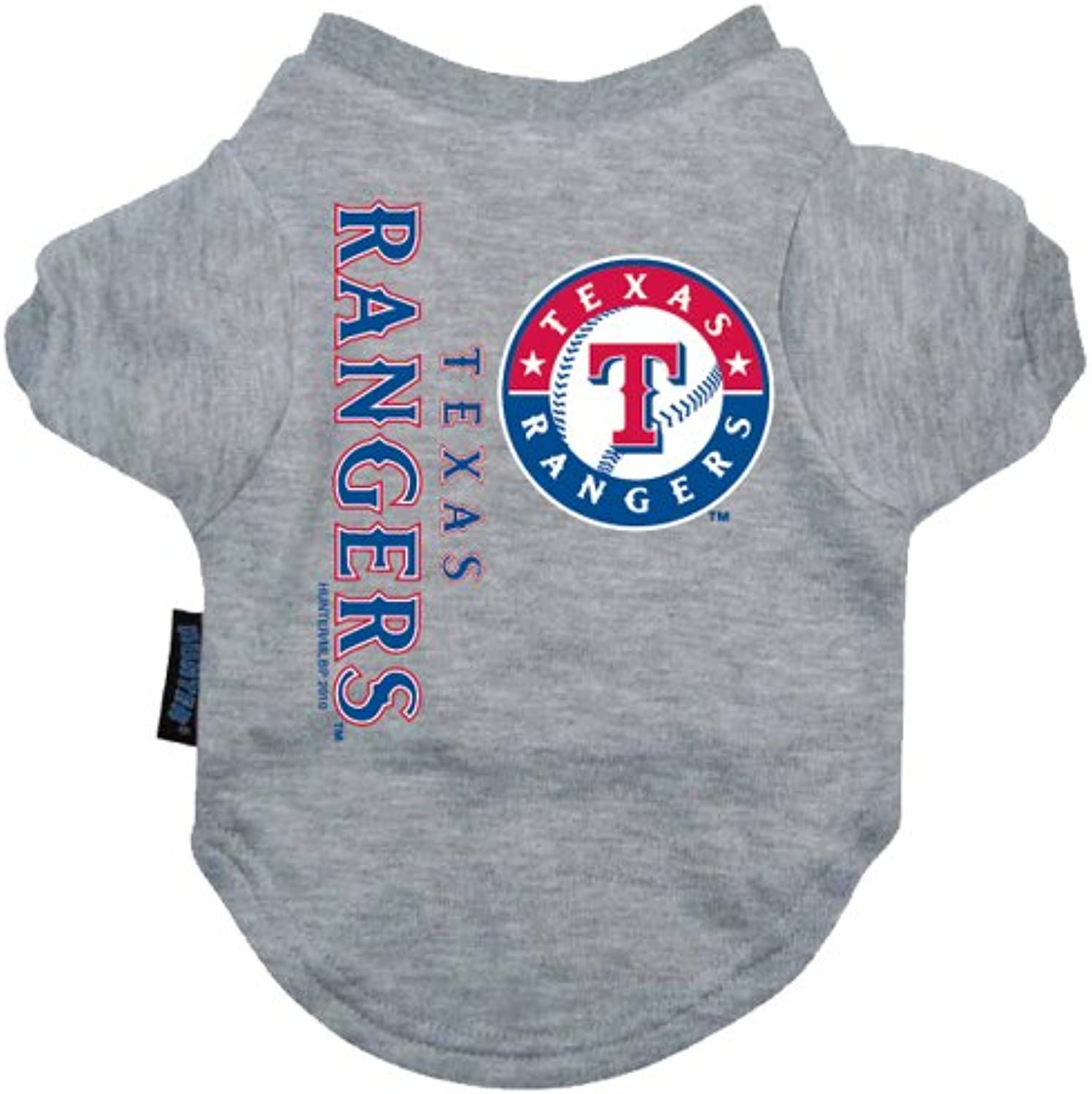 Hunter MFG Texas Rangers Dog Tee, Large