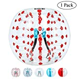 Bumper Balls for Adults Bubble Soccer Dia 5 ft Human Hamster Ball, Giant Inflatable Bubble Soccer Ball Outdoor Activities for Adults
