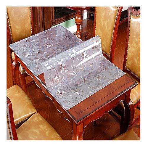 LICHUN 2 MM De Espesor Protector De Cubierta De Mesa, Rectángulo El Plastico Manteles Alfombrilla De Escritorio Antideslizante, Tamaño Personalizado (Color : 3.1mm, Size : 90x90cm)