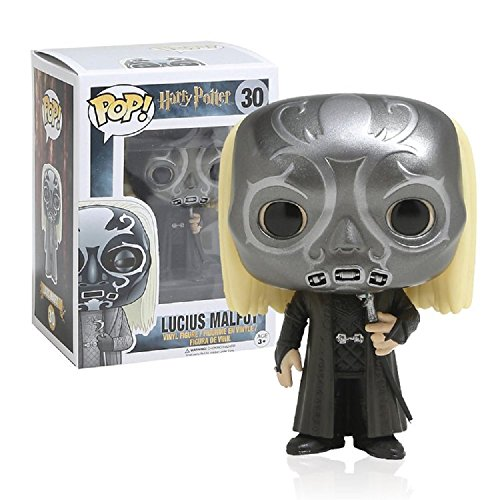 Funko POP! Harry Potter: Lucius Malfoy con máscara