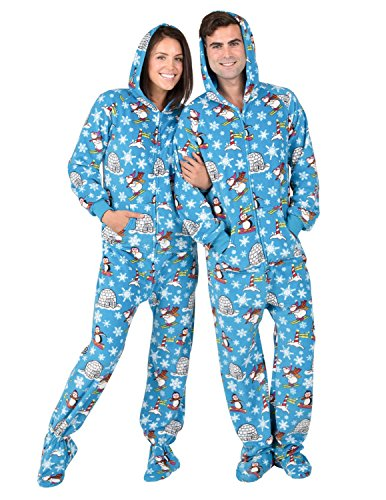 Footed Pajamas, Medium - http://coolthings.us
