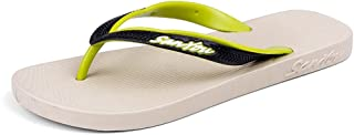 LFSP Classic Popular Sandals Beach Shoes Summer Stylish Slippers for Men's Comfort Waterproof Shower Flip-Flops Shoes Outdoor Classic Breathable Non-Slip Flat Sandals Holiday Beach Slipper Flats
