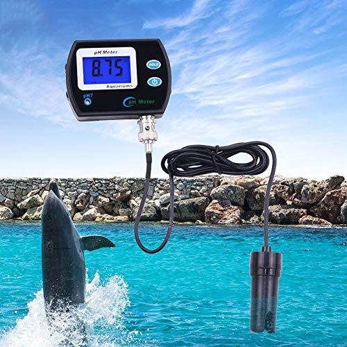 ZZKK PH meter zuurgraad analyzer resolutie met achtergrondverlichting tester detector aquarium vistank