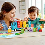 LEGO DUPLO My First Alphabet Truck 10915 ABC Letters Learning Toy for Toddlers, Fun Kids' Educational Building Toy (36 Pieces)