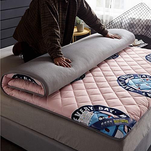 LXSHMF Tradicional Tatami Futón Colchón,Japonés Tatami Dormir Colchón De Futón Algodón Grueso Acolchar Plegable Esteras para Dormitorio Estudiantil Colchón