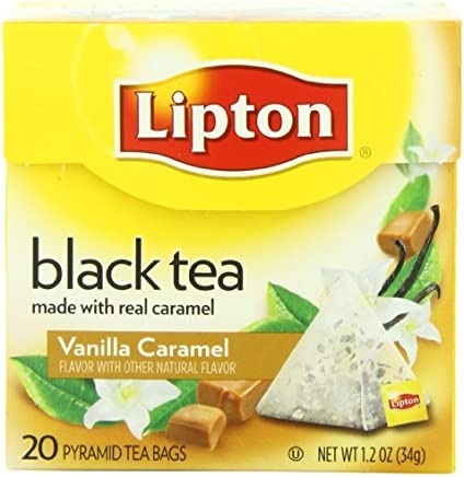 Lipton Schwarztee, Vanilla Caramel Pyramid Tee, Premium, 20 Stück Box, Garten, Rasen, Instandhaltung B00IYO4D5M | Preisreduktion