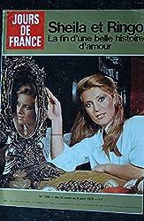 JOURS DE FRANCE 1268 1979 Mars COVER SHEILA & RINGO Robert HIRSCH Olivia Newton-Jones