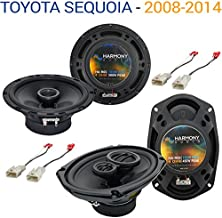Compatible with Toyota Sequoia 2008-2014 Factory Speaker Upgrade Harmony R69 R65 Package New