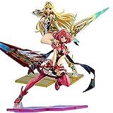 GUANGHHAO Xenoblade Chronicles 2 Pyra, Mythra 21 / 27cm Anime Figura Figuras-Figura Decoración Adorn...