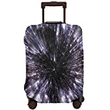 Travel Luggage Cover,Speed Of Life Space Travel Fantastic Galaxy Universe Science Fiction Future Suitcase Protector