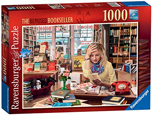 Ravensburger The Bemused Bookseller Jigsaw Puzzle (1000 Pieces)