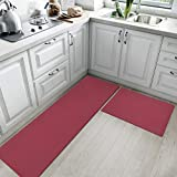 Kitchen Rugs and Mats Cushioned Anti Fatigue Comfort Runner Mat for Floor Rug Waterproof Standing...