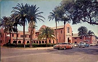 Peace Memorial Presbyterian Church, South Fort Harrison Ave Clearwater, Florida Original Vintage Postcard