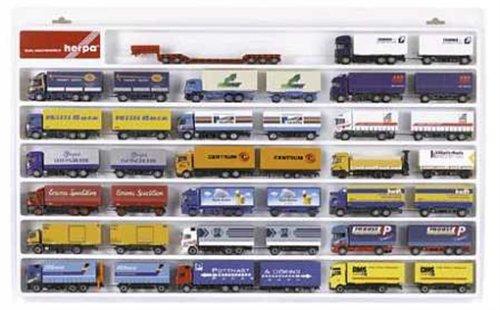029346 - Herpa - LKW-Schaukasten für 20 Hängerzüge