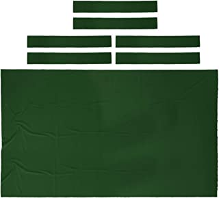 Seafard Performance Pool Table Felt Billiard Cloth with 6 Cloth Strip for 9 Foot Table