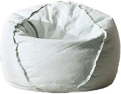 Amazon Com Big Joe Milano Bean Bag Chair Ivory Kitchen
