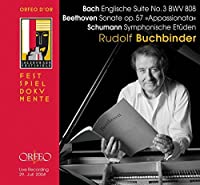 Englische Suite No. 3 Sonate by BACH / BEETHOVEN / SCHUMANN (2008-11-25)