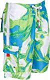 Sakkas 018113B Hommes Short Conception Vagues Multicolore Patins Planche de Surf/Maillot de Bain...