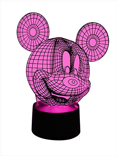 Lampe LED 3D originale Mickey Mouse