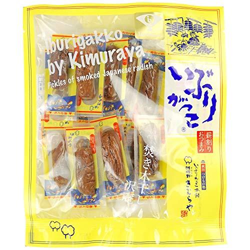 いぶりがっこ 本舗 雄勝野 きむらや いぶりがっこ 薪割り おつまみ 秋田産 燻製 たくあん 個包装 80g 1袋