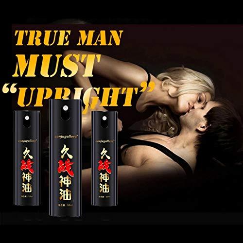 Aceite esencial de masaje para hombres Onkessy Aceite de masaje para hombres Extender la vida sexual Productos de masaje para hombres Aceite de masaje Productos para el sexo