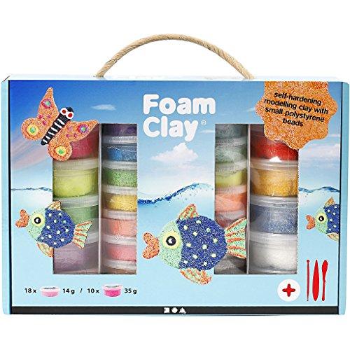 Foam Clay® Set , sortierte Farben, 1Set