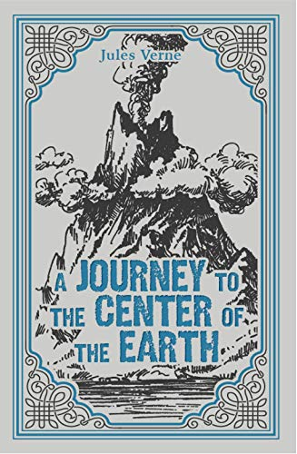 A Journey to the Center of the Earth, Jules Verne Classic Novel, (Otto Lidenbrock, Journey to Earth's Core, Original Science Fiction), Ribbon Page Marker, Perfect for Gifting