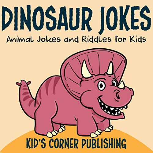 Dinosaur Jokes audiobook cover art