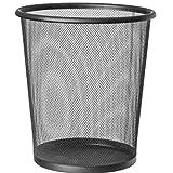 CABLEPELADO Papelera Malla Metalica 12 litros Negro