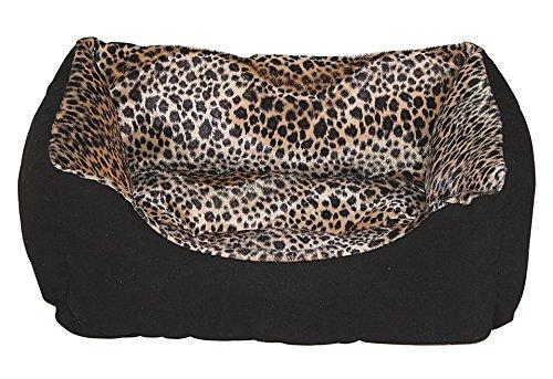 HEIM Katzenbett / Hundebett - Heimtierbett »Wildlife« 75 cm x 19 cm x 58 cm, leoprint